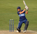 Gareth Roderick swings into the off side, Gloucestershire v Somerset, YB40 Group C, Bristol, August 26, 2013