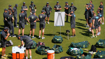 Australia talk tactics