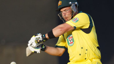 Aaron Finch blazed his way with 14 sixes