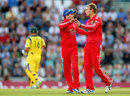 Danny Briggs claimed the wicket of Shaun Marsh, England v Australia, 1st T20, Ageas Bowl, August 29, 2013
