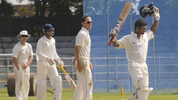 Vijay Zol made a century on his first-class debut