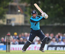 David Murphy looks to play one square on the off side, Scotland v Australia, only ODI, Edinburgh, September 3, 2013