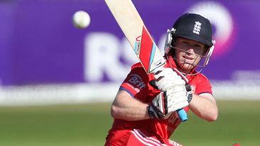 Eoin Morgan swept England back on course