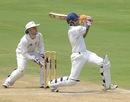 Manpreet Juneja pulls during his hundred, India A v New Zealand A, 2nd unofficial Test, 3rd day, Visakhapatnam, September 4, 2013