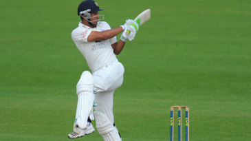 Usman Arshad helped put on 61 for the seventh wicket