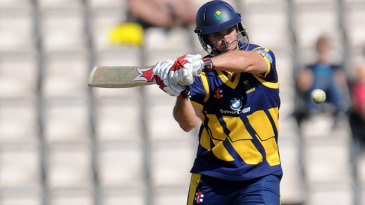 Jim Allenby guided Glamorgan with an unbeaten 74