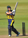 Ben Wright cracked 47 off 28 balls, Hampshire v Glamorgan, YB40 semi-final, Ageas Bowl, September 7, 2013