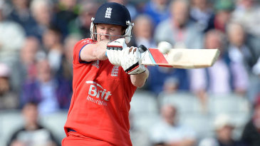 Eoin Morgan needed another big innings for his side