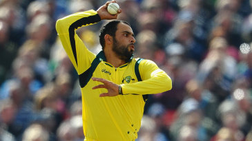 Fawad Ahmed did not have a fruitful day
