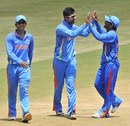 Ashok Menaria took his maiden five-for in List A cricket, India A v New Zealand A, 2nd unofficial ODI, Visakhapatnam, September 10, 2013