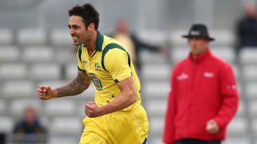 Mitchell Johnson enjoyed removing Kevin Pietersen