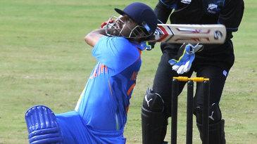Ashok Menaria needed only 26 balls to reach his half-century