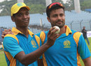 6 + 4 - Al-Amin Hossain and Nabil Samad shared all ten wickets between them, Abahani Limited v Cricket Coaching School, DPL 2013, Fatullah, September 12, 2013