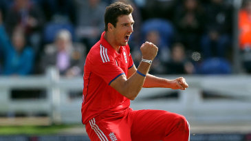 Steven Finn struck in his opening over