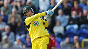 Michael Clarke tried to improve Australia's position with aggression
