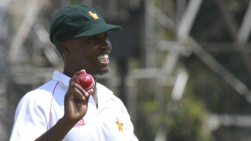 Tendai Chatara picked up his first five-wicket haul