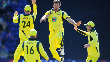 Clint McKay removed Kevin Pietersen, Jonathan Trott and Joe Root in consecutive balls