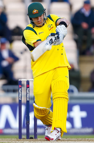 Shane Watson led Australia's innings with an 87-ball century