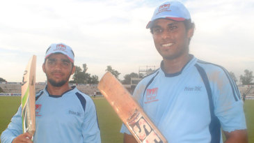 Mominul Haque and Roshen Silva broke the List A record for the fourth-wicket partnership