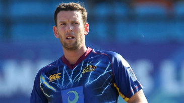 Otago's Ian Butler took three wickets in four balls