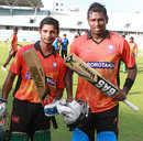 Nazmus Sadat and Angelo Mathews added 148 for the fifth wicket, Brothers Union v Victoria Sporting Club, Dhaka Premier Division, Mirpur, September 20, 2013