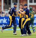 The 20-year-old offspinner Andrew Salter impressed at Lord's, Glamorgan v Nottinghamshire, YB40 final, Lord's, September 21, 2013