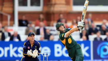 Chris Read goes over the leg side as he helps Nottinghamshire recover