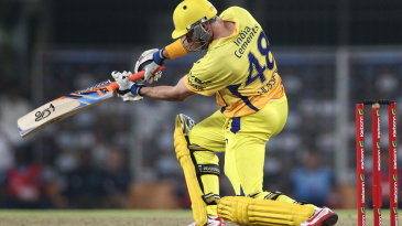Michael Hussey set up Super Kings' chase