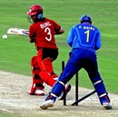 Ryan Burl top-scored with 46, India Under-19s v Zimbabwe Under-19s, Visakhapatnam, Sep 23, 2013