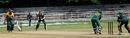 Bradley Dial defends during his knock of 48, Australia Under-19s v South Africa Under-19s, Visakhapatnam, Sep 23, 2013