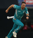 Matthew Gale picked up four wickets, Brisbane Heat v Titans, Group B, Champions League 2013, Mohali, September 24, 2013