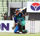 Raqibul Hasan made an unbeaten 58, Cricket Coaching School v Gazi Tank Cricketers, Dhaka Premier Division, Mirpur, September 24, 2013