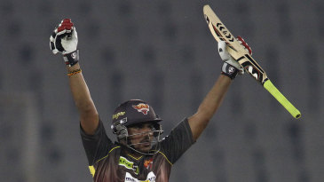 Karn Sharma exults after Sunrisers' win
