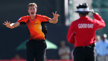 Joel Paris struck with his first two balls for Perth Scorchers