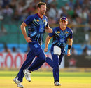 Ian Butler finished with 3 for 47, Otago Volts v Perth Scorchers, Group A, Champions League 2013, Jaipur, September 25, 2013