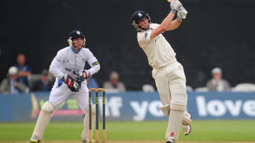 Chris Woakes made an unbeaten 152