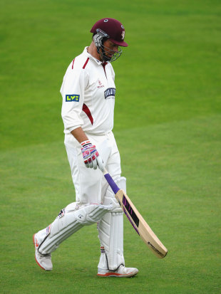Marcus Trescothick ended the season without a first-class hundred for the first time in 15 years