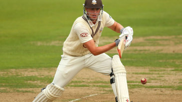 Dominic Sibley was batting in only his fourth first-class innings