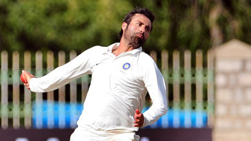Parvez Rasool bowls for India A