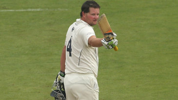Rob Key acknowledges his century