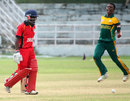 Nqazibini Sigwili finished with 3 for 10, South Africa Under-19s v Zimbabwe Under-19s, Quadrangular Under-19 Series, Visakhapatnam, Sep 27, 2013