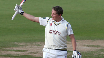 Gary Ballance made his second hundred of the match