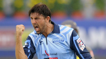 David Wiese finished with 3 for 17