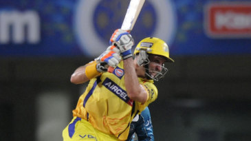 Michael Hussey's unbeaten 57 gave Chennai an easy win