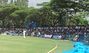Spectators flock to Shimoga for the opening day's play, India A v West Indies A, 2nd unofficial Test, Shimoga, 1st day, October 2, 2013
