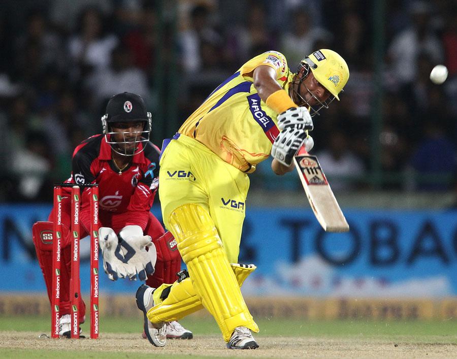 Suresh Raina made 38 off just 29