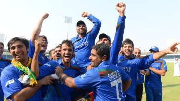 Afghanistan are overjoyed at qualifying for their first 50-over World Cup
