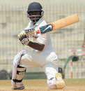Ankit Bawne goes for the sweep, South Zone v West Zone, Duleep Trophy, Day 3, Chennai, October 5, 2013
