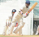 Aditya Waghmode works one away to the leg side, South Zone v West Zone, Duleep Trophy, Day 3, Chennai, October 5, 2013