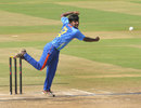 Aamir Gani picked up three wickets, India Under-19s v South Africa Under-19s, Final, Visakhapatnam, October 5, 2013
